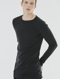 [GOER] BLACK LONG SLEEVE T-SHIRTS