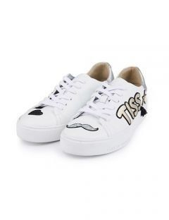 [HATISS] ANDY WAPPEN WHITE SNEAKERS