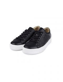 [HATISS] SAINT BLACK SNEAKERS