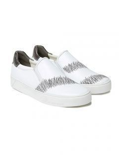 [HATISS] ACKSON POLLOCK WHITE SLIP ON