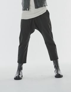 [GOER] CROP BAGGY PANTS