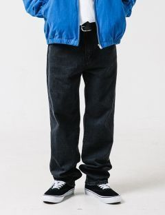 [WKNDRS] WKND DENIM PANTS [BLACK]