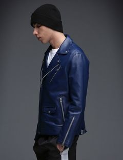 [MAHAGRID] W RIDERS JACKET [LAMBSKIN] - OFFICIAL L.E