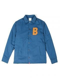 [BURIED ALIVE] BA HOME BOA DENIM JACKET BLUE