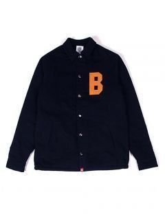 [BURIED ALIVE] BA HOME BOA DENIM JACKET NAVY