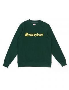 [BURIED ALIVE] BA LOGO CREWNECK GREEN