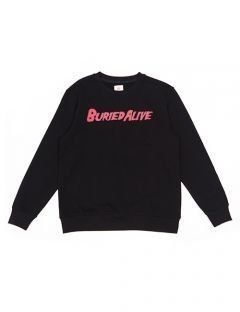 [BURIED ALIVE] BA LOGO CREWNECK BLACK