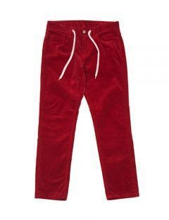 [BURIED ALIVE] BA ESJAY CORDUROY PANTS BURGUNDY