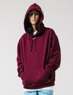[WKNDRS] CITY WALKS HOODIE [BURGUNDY]