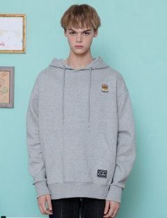 [CANLEAP] CANLEAP 1ST SCHEDULE OVER FIT HOODIE [GRAY]