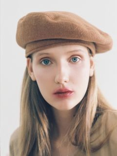 [AWESOME NEEDS] CLASSIC BERET [WOOL CAMEL]