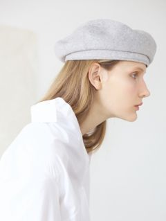[AWESOME NEEDS] CLASSIC BERET [WOOL GREY]