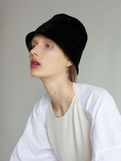 [AWESOME NEEDS] LAMPSHADE HAT(BLACK)