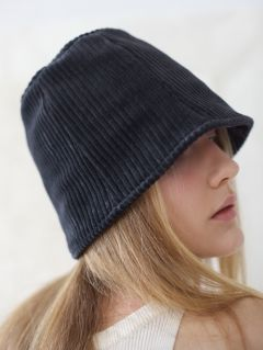 [AWESOME NEEDS] LAMPSHADE HAT(DEEP GRAY)