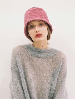 [AWESOME NEEDS] LAMPSHADE HAT [PINK]