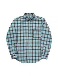 [LEVARN] OVER SIZED CHECK SHIRT