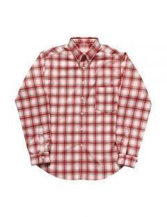 [LEVARN] OVER SIZED CHECK SHIRT [PINK]