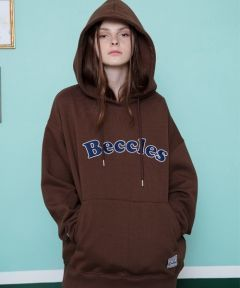 [CANLEAP] CANLEAP BECCLES OVERFIT HOODIE [BROWN]