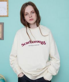 [CANLEAP] CANLEAP SCARBOROUGH OVER-FIT CREWNECK [IVORY]