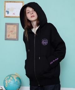 [CANLEAP] CANLEAP TRIP TO EAST HOOD ZIP-UP [BLACK]