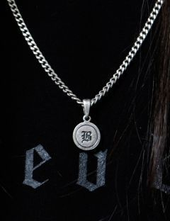 [BLESSED BULLET] Classic chain Coin necklace