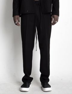 [BLESSED BULLET] BAND&STRING BOOTCUT LONG SLACKS