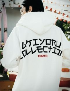 [AKIYORU] AKIYORU COLLECTION HOOD [WHITE]