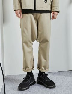 [FROMMARK] DROP CROTCH PANT [BEIGE]