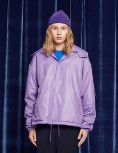[13month] ADOLE SCENCE RAIN COACH JACKET (PURPLE)