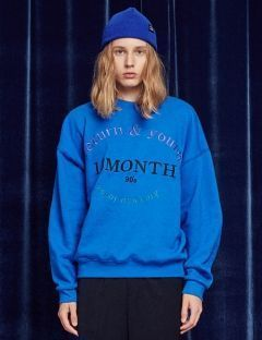 [13month] RETURN AND YOUTH SWEATSHIRT (BLUE)