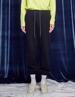 [13month] RETURN AND YOUTH JOGGER PANTS (BLACK)