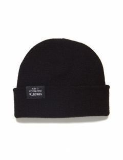 [13month] VIVID WATCH CAP (BLACK)