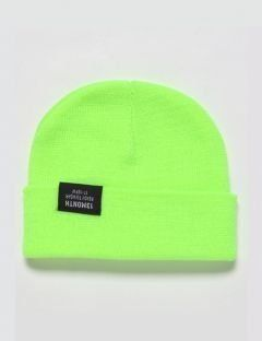 [13month] VIVID WATCH CAP (LIME)