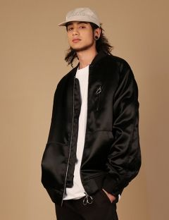 [ZISZAS] Tow Way Zipper Suka Jacket Black