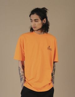 [ZISZAS] Logo Awaiter Tee Orange