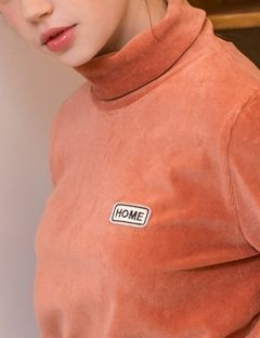 [SALADBOWLS] 17 HOME CDR TURTLENECK ORANGE