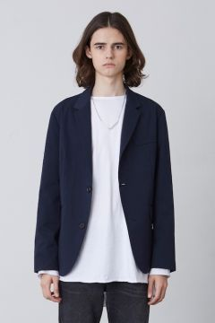 [CHUCK] FW17 BASIC JACKET [NAVY]