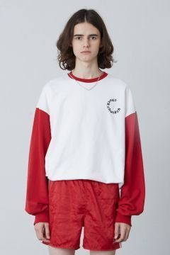 [CHUCK] FW17 2COLOR LONG SLEEVE T-SHIRT [RED]