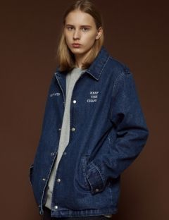 [SLOWACID] Denim Coach Jacket