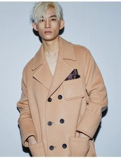 [CHARMS] WOOL OVERSIZED COAT