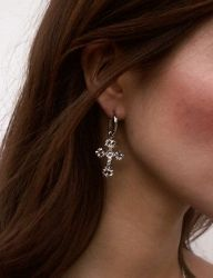 [AUGUST HARMONY] Christin earring [Silver]