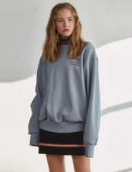 [SCULPTOR] CHERISH SWEATSHIRT [IVORY,OLIVE,BLUE,NAVY]