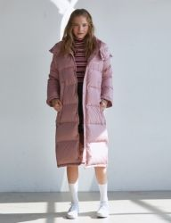 [SCULPTOR] DUCK-DOWN BENCH COAT 950 [PINK]