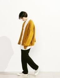 [VOIEBIT] LONG BANDDING WIDE WOOL SLACKS_BLACK