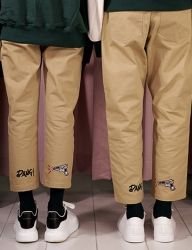 [AT THE MOMENT] Bang Chino Pants [BEIGE]