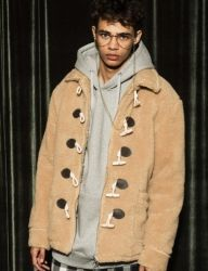 [AT THE MOMENT] Duffle Zipper Jacket [BEIGE]