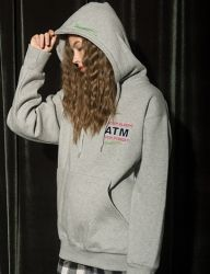 [AT THE MOMENT] Tomorrow Hoodie [GRAY]