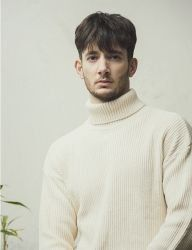 [KNITTED] PIMACOTTON WAFFLE OVER-FIT TURTLENECK KNIT 6 COLOR