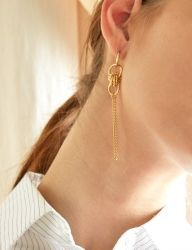 [MATIAS] Gold twist Earring