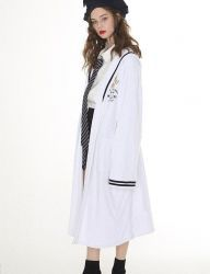 [Oct.3] October3rd Sailor Collar Bathing Gown [White]